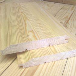 Имитация бруса из лиственницы «Прима» 20х160х2000-4000