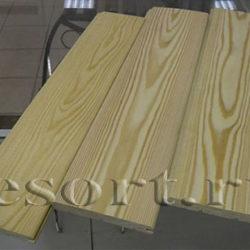 Вагонка штиль из лиственницы «Прима» 14х138×2000-4000